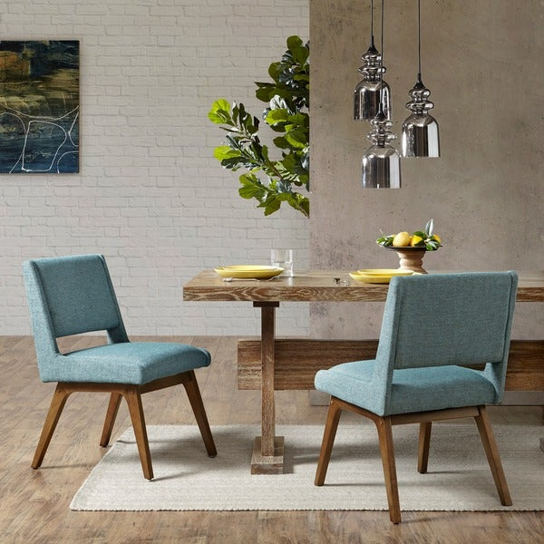 INK+IVY Boomerang Dining Chair (Set Of 2)