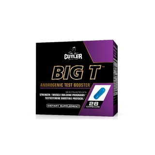 Cutler Nutrition Big T Androgenic Test Booster (28-Day Supply)