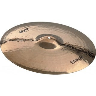 Stagg MY-CR16B Myra Series 16-inch Brilliant Rock Crash Cymbal