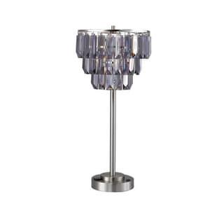 QMax Decorative Designer Faux Crystal Floor Lamp