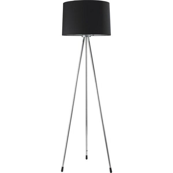 QMax Black 3-legged Floor Lamp