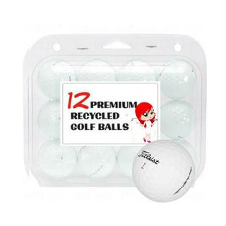Titleist Velocity Recycled Golf Balls (Case of 12)