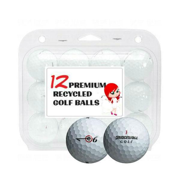 Bridgestone E6 Recycled Golf Balls (Case of 12)