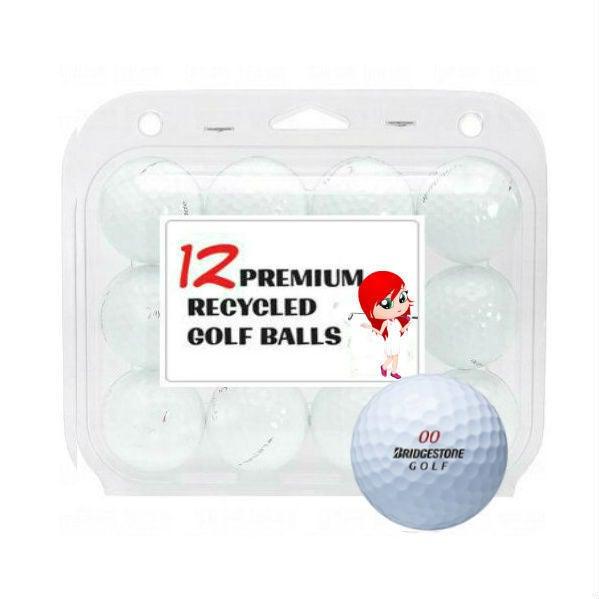 Bridgestone Mix Recycled Golf Balls (Case of 12)