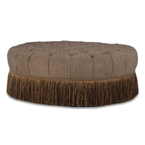 A.R.T. Furniture Giovanna Sable Brown Upholstered Cocktail Ottoman