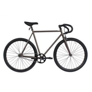 Micargi Grey Steel Frame Fixed Bike