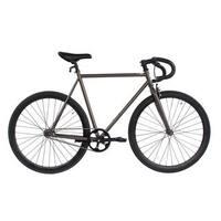 Micargi Grey Steel Frame Fixed Bike