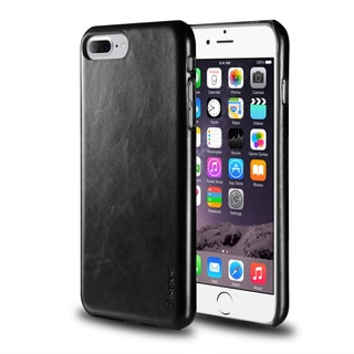 Insten Leather Textured Back Case Cover For Apple iPhone 7 Plus