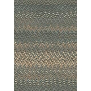 Dynamic Rugs Opus Grey/Beige Polypropylene Rug ( 7'10 x 10'10)