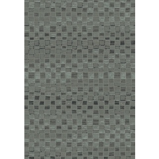 Opus Grey Machine-made Polypropylene Rug (7'10 x 10'10)