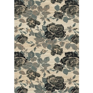 Dynamic Rugs Beige/ Grey Polypropylene Machine-made Opus Rug (7'10 x 10'10)