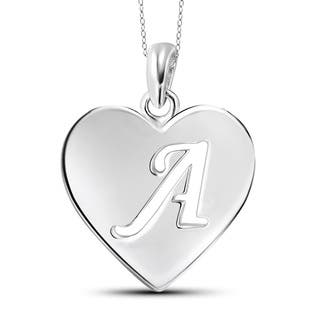 Sterling Silver A to Z Initial Cutout Heart Pendant Necklace|https://ak1.ostkcdn.com/images/products/13188745/P19910379.jpg?impolicy=medium