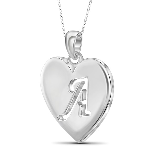 Sterling Silver Medium Block Initial O Charm Best Quality Free Gift Box