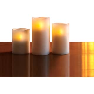 Apothercary and Company Candle Flameless with Remote 3pc