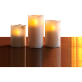 Apothercary and Company Cinnamon Candle Flameless with Remote 3pc
