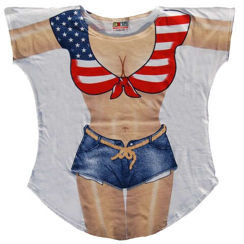 Fantasy Swimsuit Miss America Cotton Cover-up