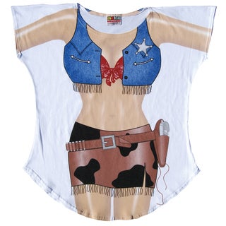 Fantasy Cowgirl Swimsuit Cover Up