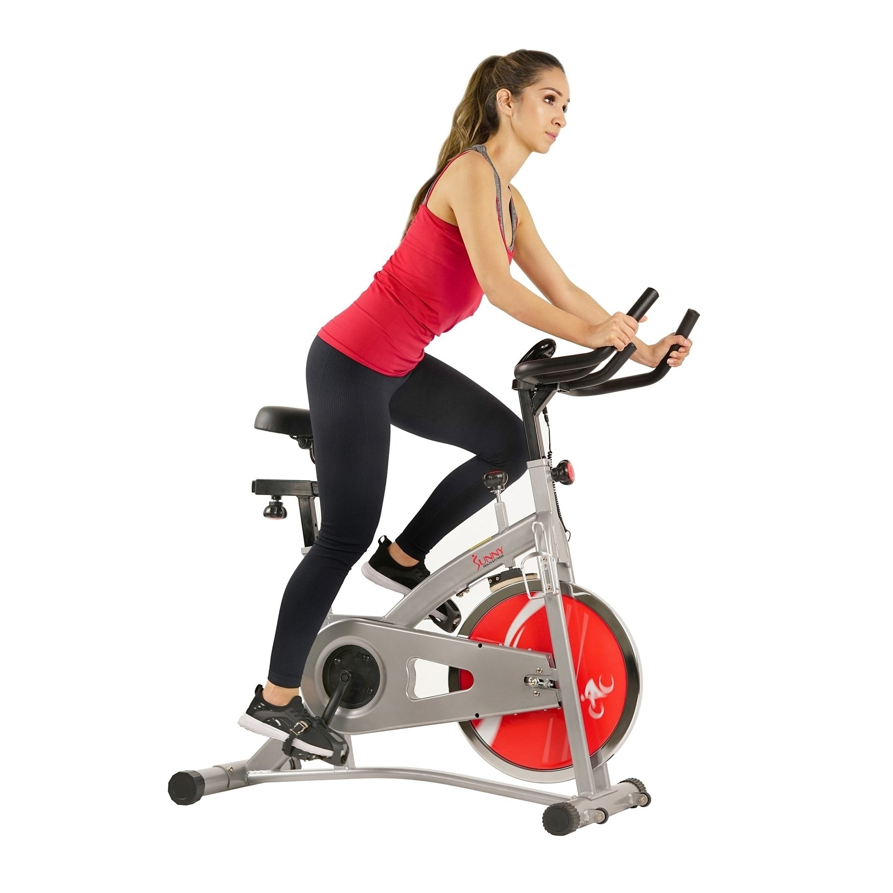 Sunny SF-B1421B Belt Drive Indoor Exercise Cycling Bike (...