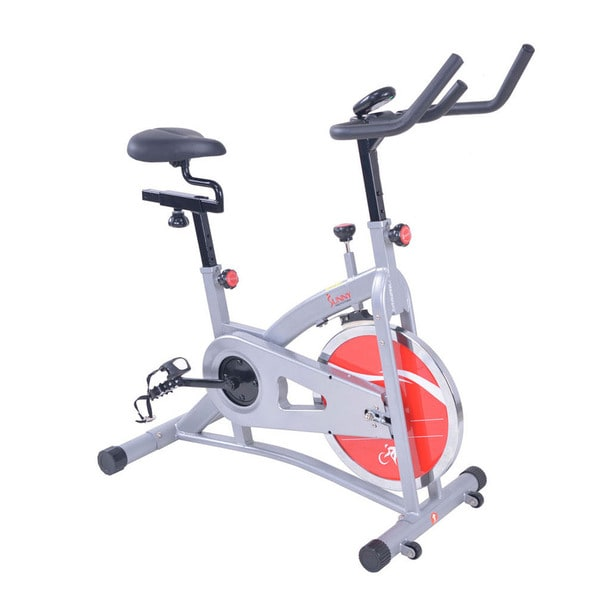 Sunny Health & Fitness SF-B1421B Belt Drive Indoor Exercise Cycling Bike
