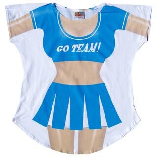Fantasy Go Team Cheerleader Swimsuit Cover-up