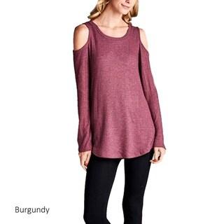 Women's Cutout Shoulder Tunic