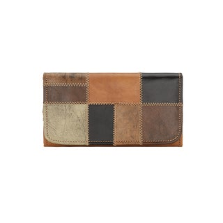 American West Groovy Soul Leather Wallet