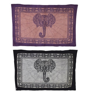 Mighty Elephant Tranquil Tapestry Bed Spread