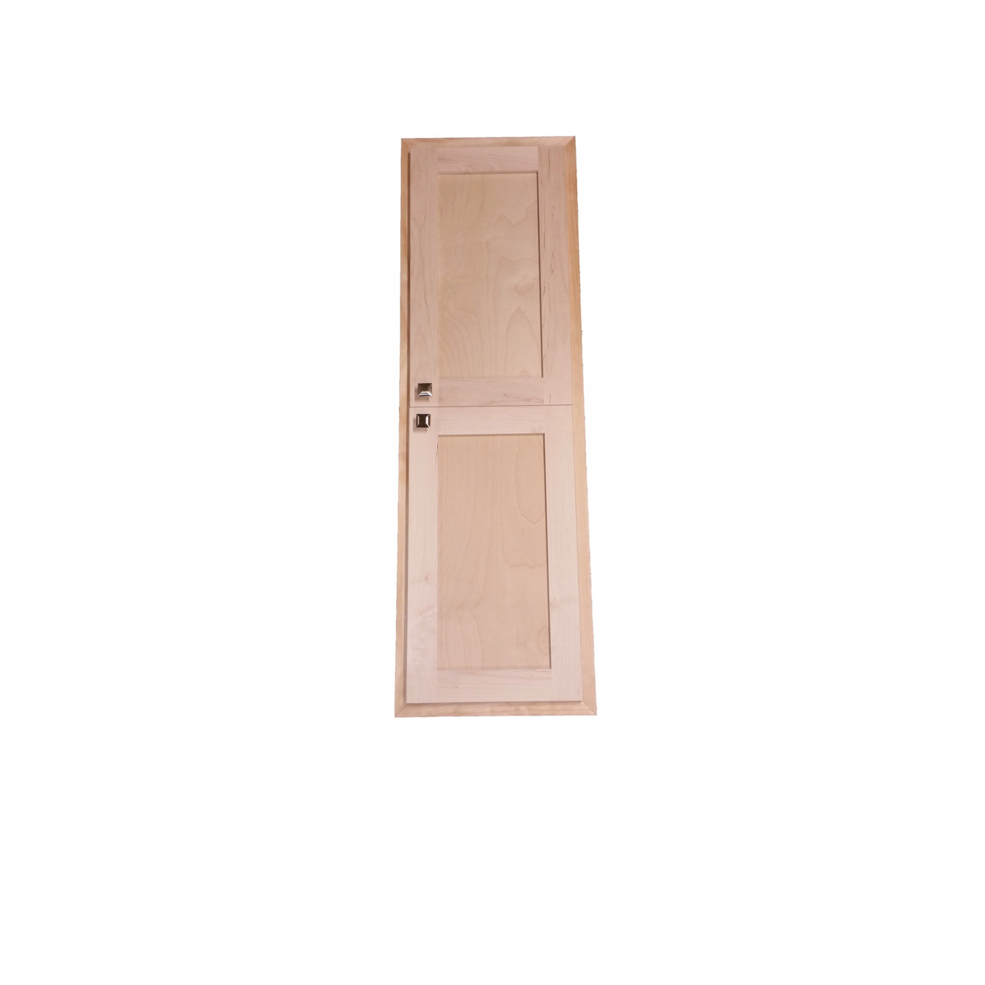WG Wood Products 48-inch High x 2.5-inch Deep Recessed In...