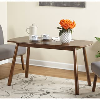 Simple Living Playmate Walnut Rubberwood Dining Table