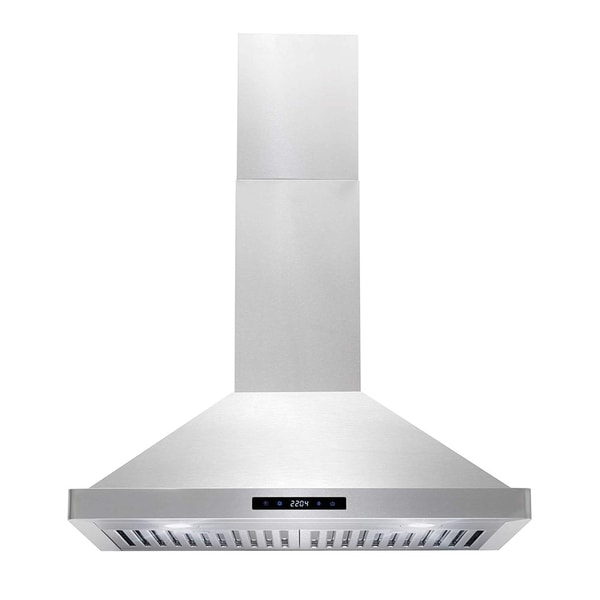 Cosmo 30-inch Range Hood 760 CFM Ducted Wall Mount - Stainless Steel