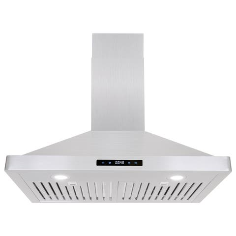 Cosmo 30-inch Range Hood 760 CFM Ducted Wall Mount in Stainless Steel (As Is Item)