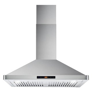 Cosmo 30 Inch Range Hood 760 CFM Ducted Wall Mount   STAINLESS STEEL