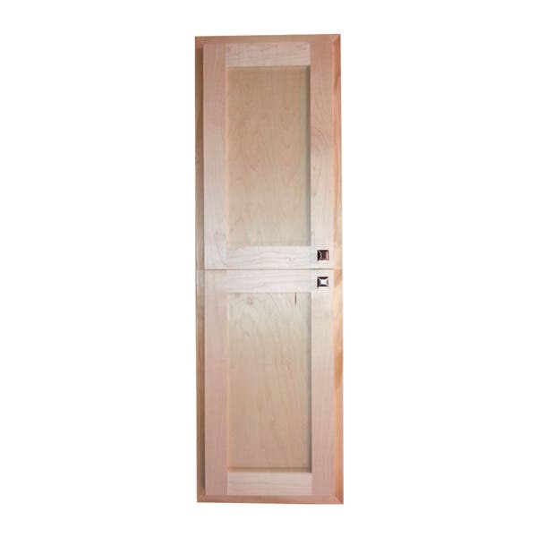 Wg Wood Products 60 Inch Deep Recessed Cabinet 14 1 8 W X H 3 D
