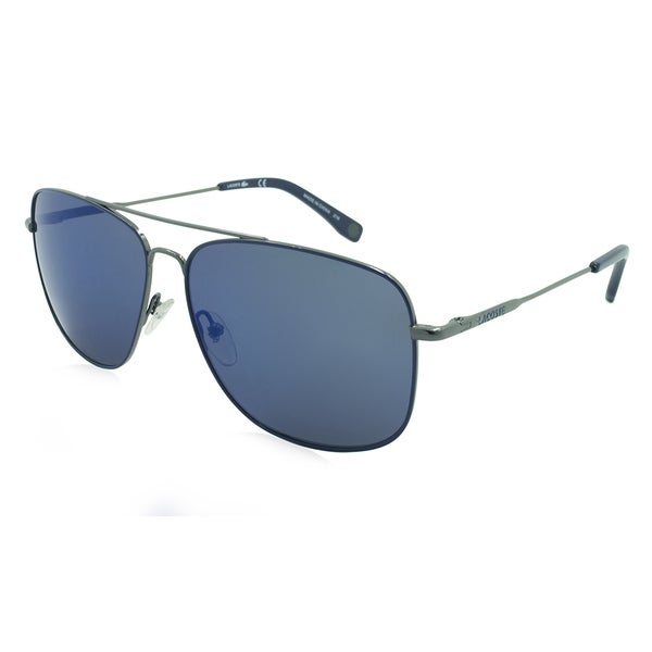 b5433449a90 Shop Lacoste L175S-033 Aviator Blue Sunglasses - Free Shipping Today -  Overstock - 13189287