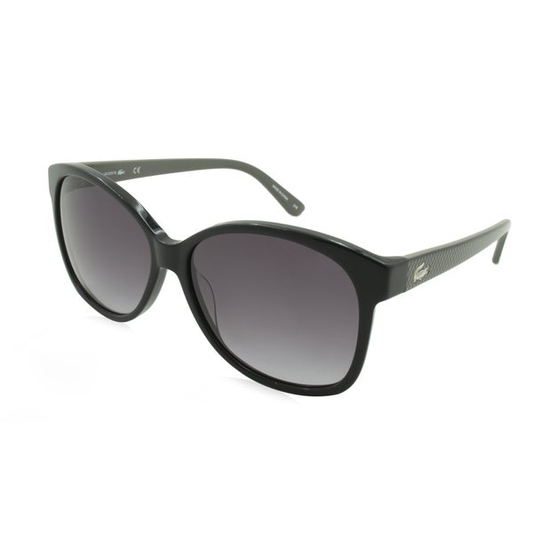 Lacoste L701S-001 Oversized Black Gradient Sunglasses