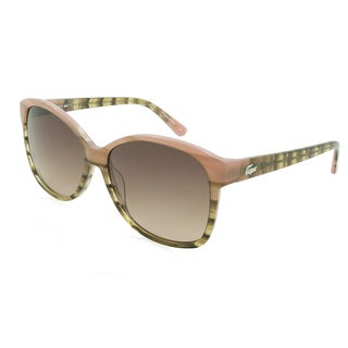 Lacoste L701S-662 Oversized Brown Gradient Sunglasses