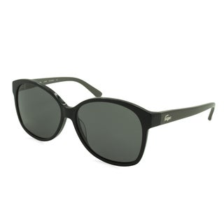 Lacoste L701SP-001 Oversized Black Sunglasses