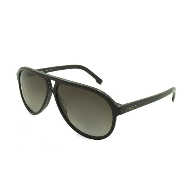 703eaa7afff2 Shop Lacoste L741S-001 Black Gradient Sunglasses - Free Shipping Today -  Overstock - 13189310
