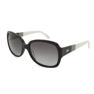 Lacoste L783S-001 Oversized Gray Gradient Sunglasses