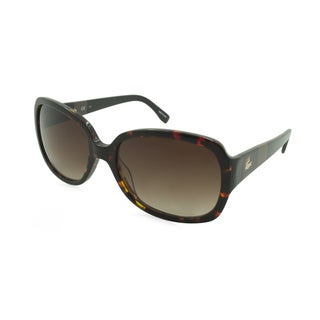 Lacoste L783S-214 Oversized Brown Gradient Sunglasses