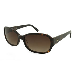 Lacoste L784S-214 Square Brown Gradient Sunglasses