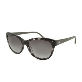 Lacoste L785S-035 Oversized Gray Sunglasses