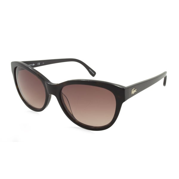 Lacoste L785S-214 Oversized Brown Gradient Sunglasses