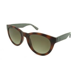 Lacoste L788S-214 Round Green Sunglasses