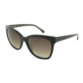 Lacoste L792S-001 Round Black Gradient Sunglasses