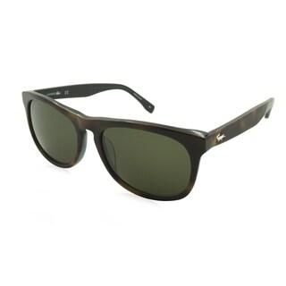 Lacoste L818S-214 Square Green Sunglasses