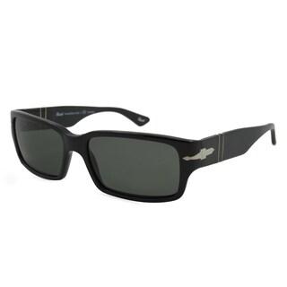 Persol PO3087/S-95/58 Square Green Polarized Sunglasses