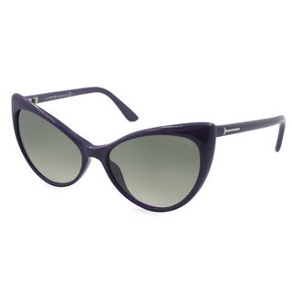 Tom Ford TF0303-90B Cateye Gray Gradient Sunglasses