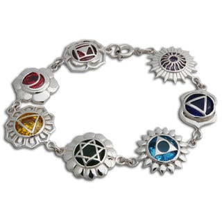 Handmade Sterling Silver Seven Chakra Bracelet (Thailand)|https://ak1.ostkcdn.com/images/products/13189395/P19910909.jpg?impolicy=medium