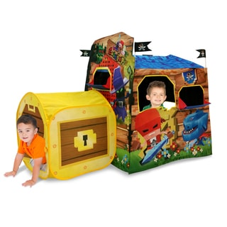 Playhut Cubetopia Blue Training Center Playhouse